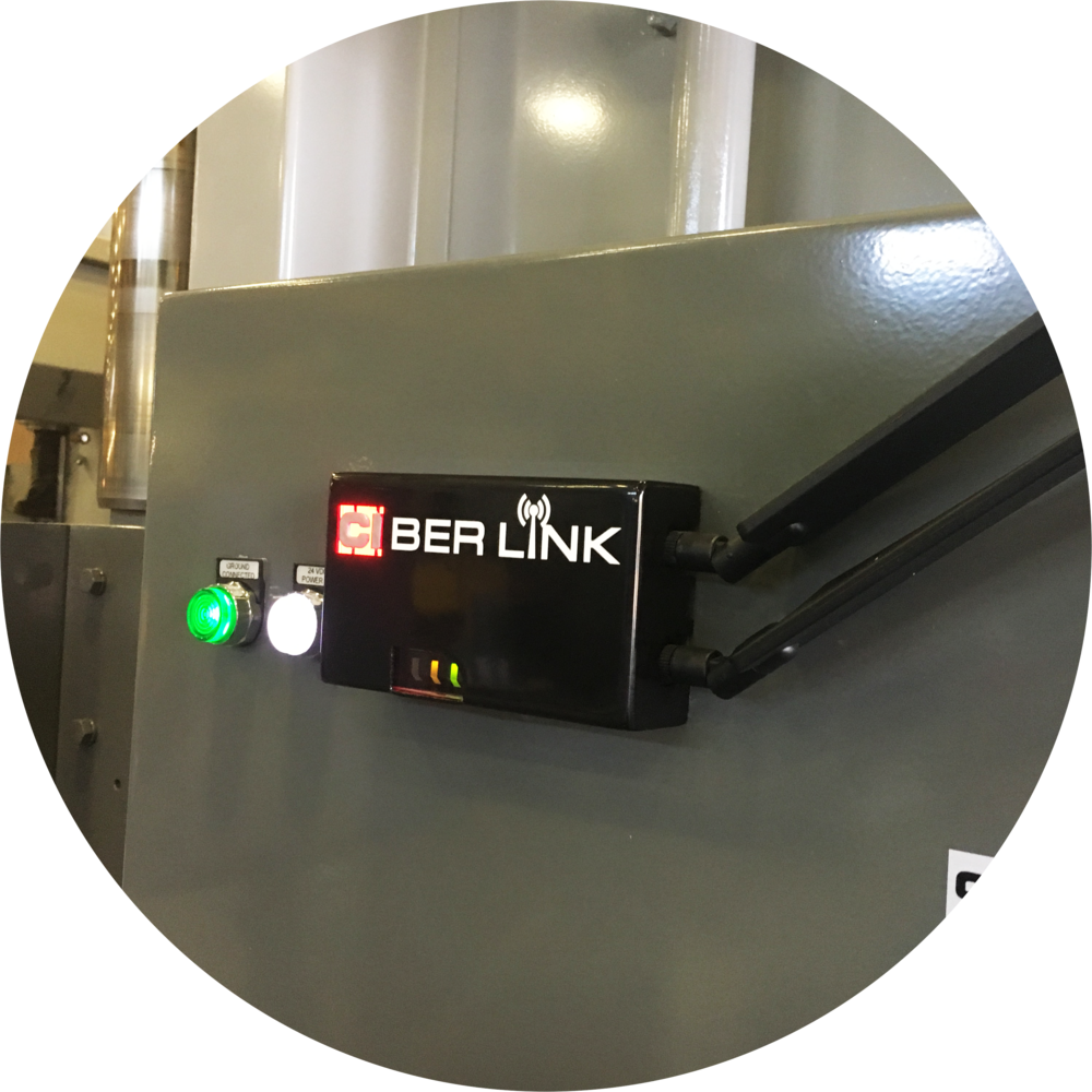 CIber Link mounted on Press Brake