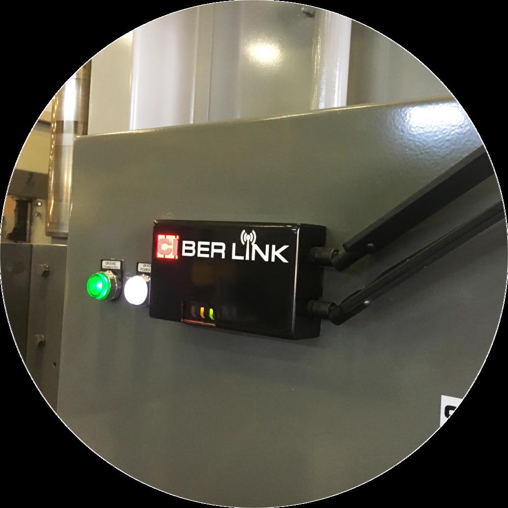 CIberLink mounted on Press Brake