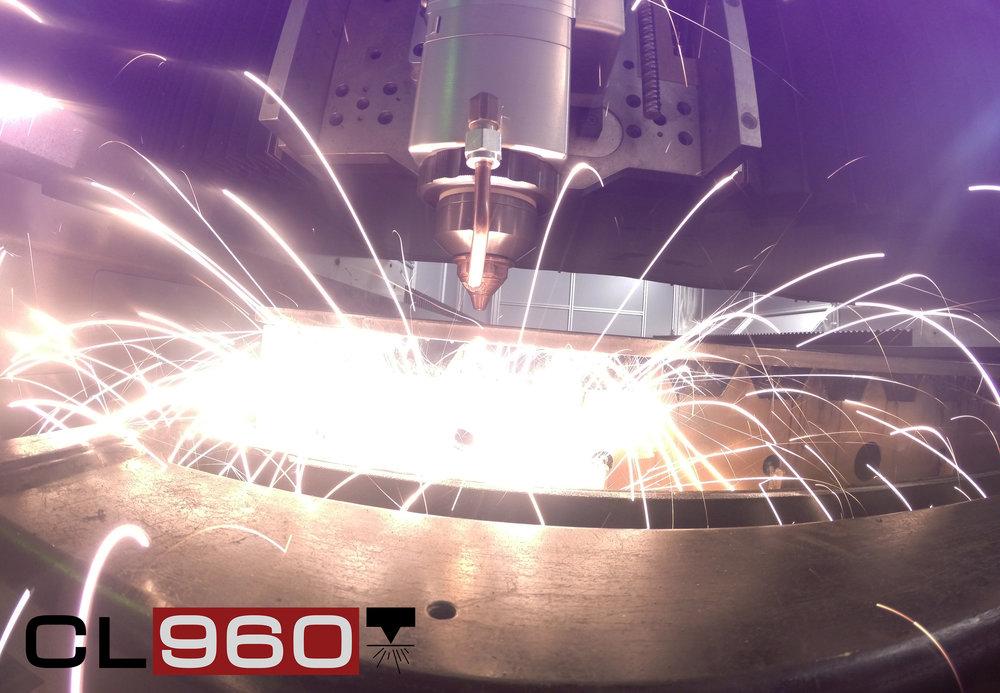 CL-960 Fiber Laser Head