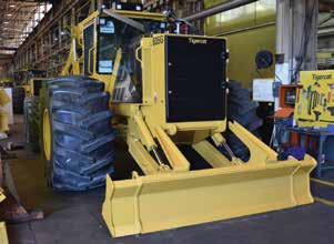 This skidder is set to leave the Savage Drive plant in Cambridge.