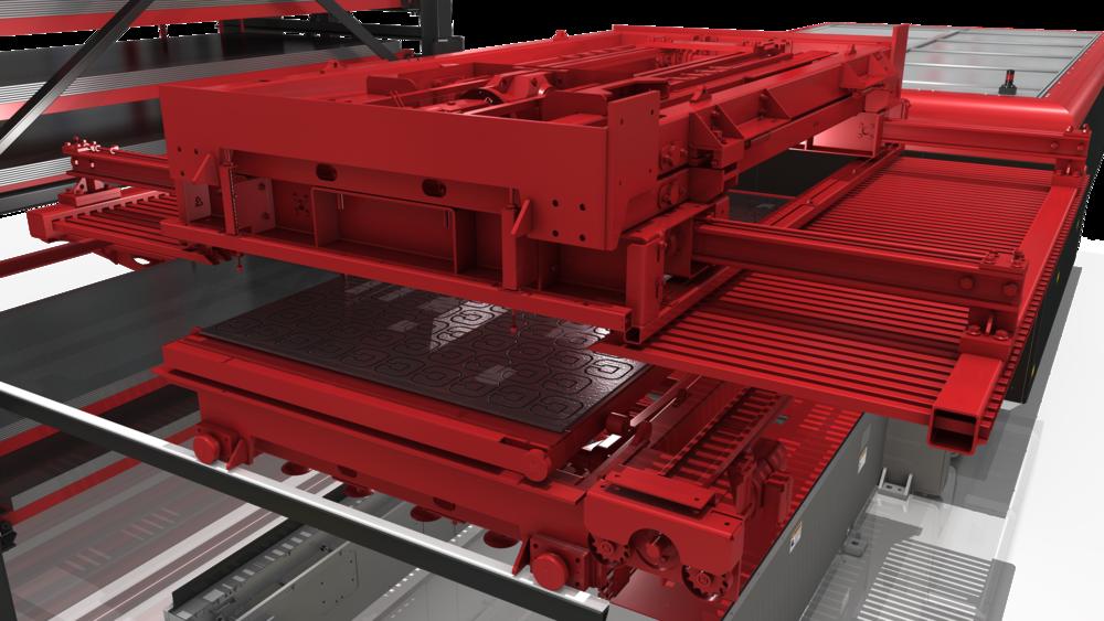 MARCH Unloader (Unloader Placing Parts on Loader)