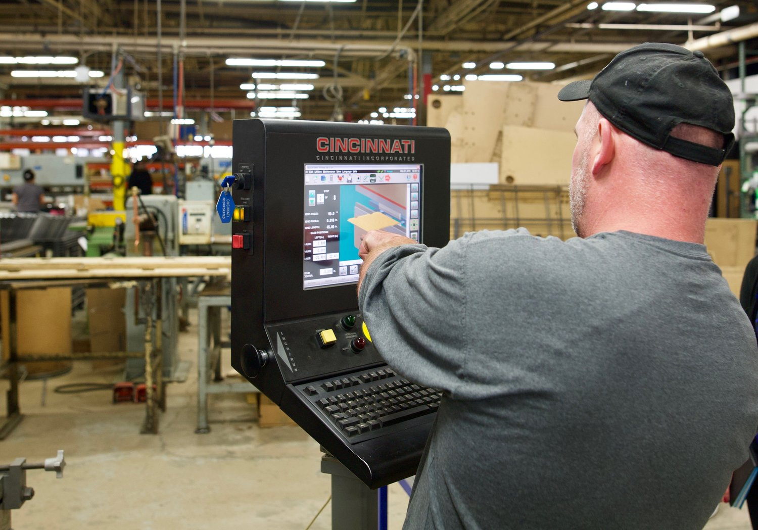 Add New Life to your Veteran Press Brake with a CI Controls
