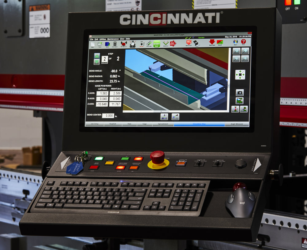 BIGGER is always BETTER - Upgrade your press brake's monitor and enjoy all the benefits that come with a larger screen!