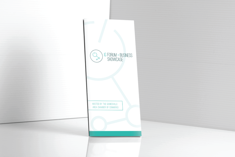 neutral7 graphic design innovation gainesville branding trifold brochure pamphlet