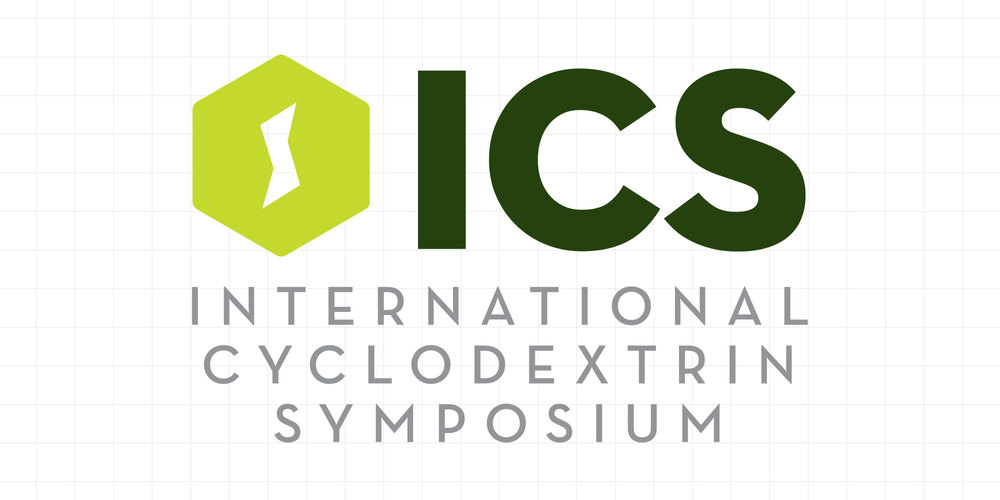 neutral7 design international cyclodextrin symposium branding logo