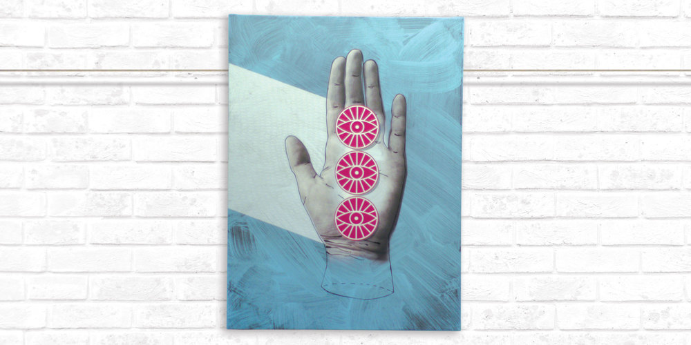 Drishti - Rachel Smith  |  (Stretched Canvas Print)