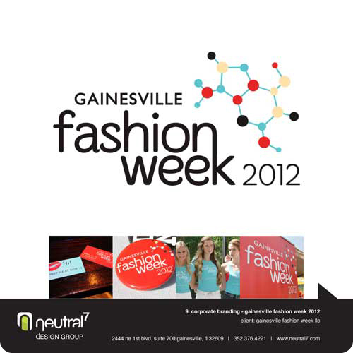 Gainesville Fashion Week 2012 Event Branding