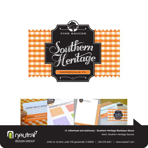 Southern Heritage Sauces Creative Identity