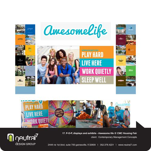 CMC Awesome Life Housing Fair Campaign