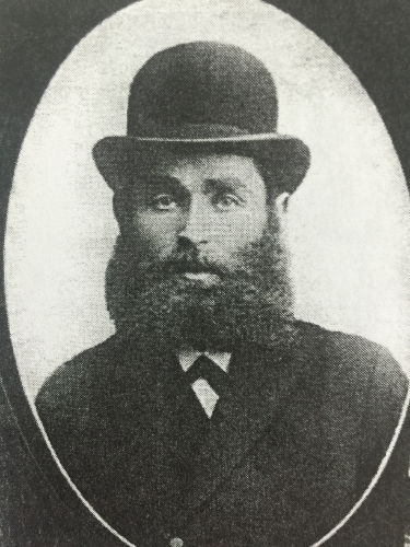 My Great-Grandfather, Rabbi Avram Lipkofsky, Lomza, Poland, 1904