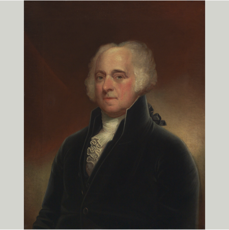 John Adams - Second President of the United States (March 4, 1797 - March 4, 1801)