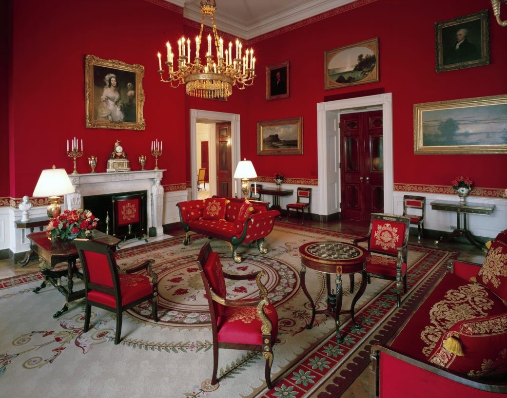 Why Does The White House Have A Red Room? And How Is It Used?