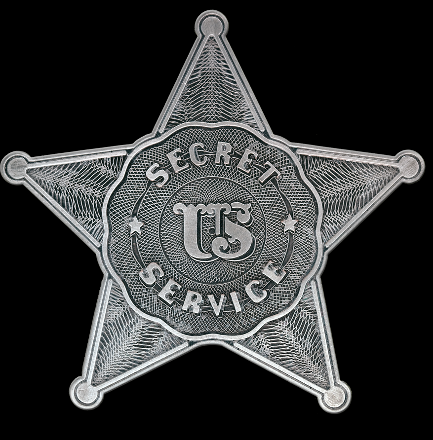 First Secret Service Badge.png
