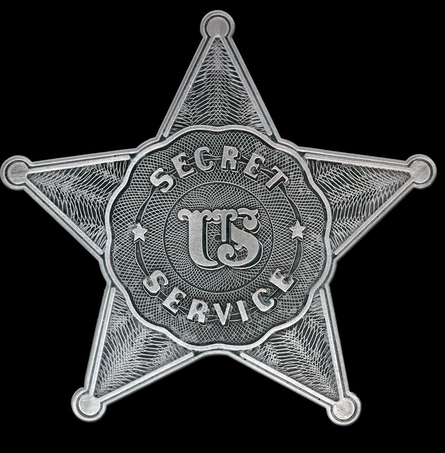 First Secret Service Badge.png