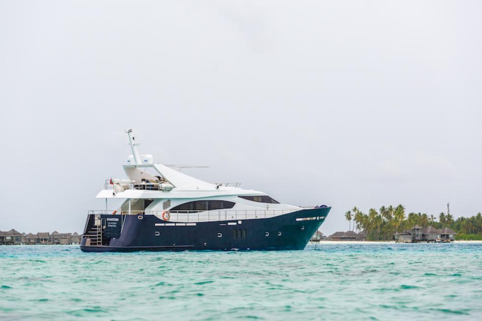 Lancha 78 pés - Maldivas