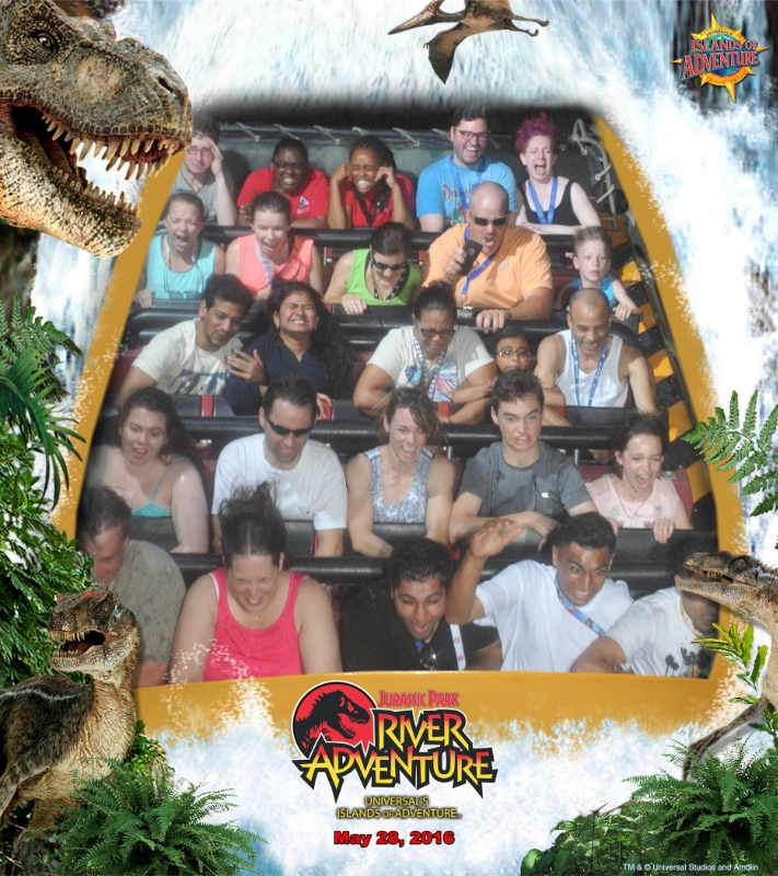 "Kelly says I'm super fun to go on rides with because I ""screech and scream and swear at all the right parts."" My throat wasn't too happy about it."