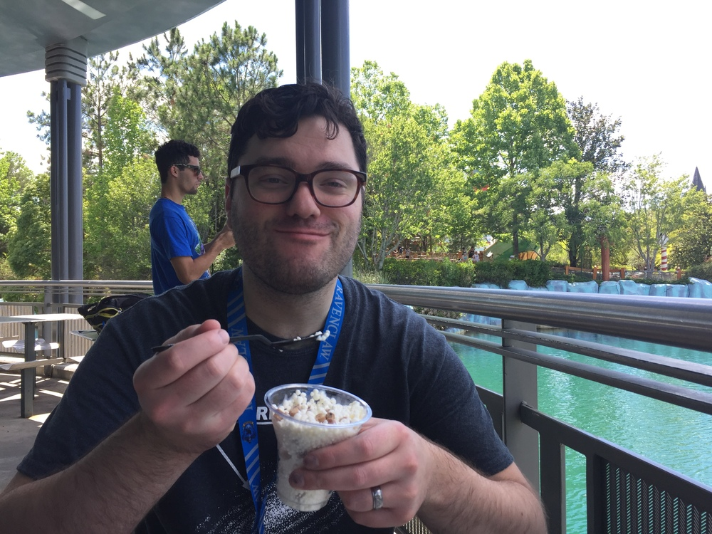 Dippin' Dots! A must-eat at any theme park, zoo, or state fair.