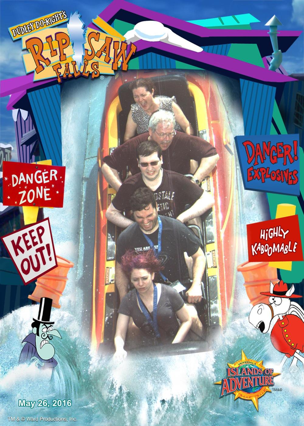 Ripsaw Falls may have scared the bejeesus out of me.