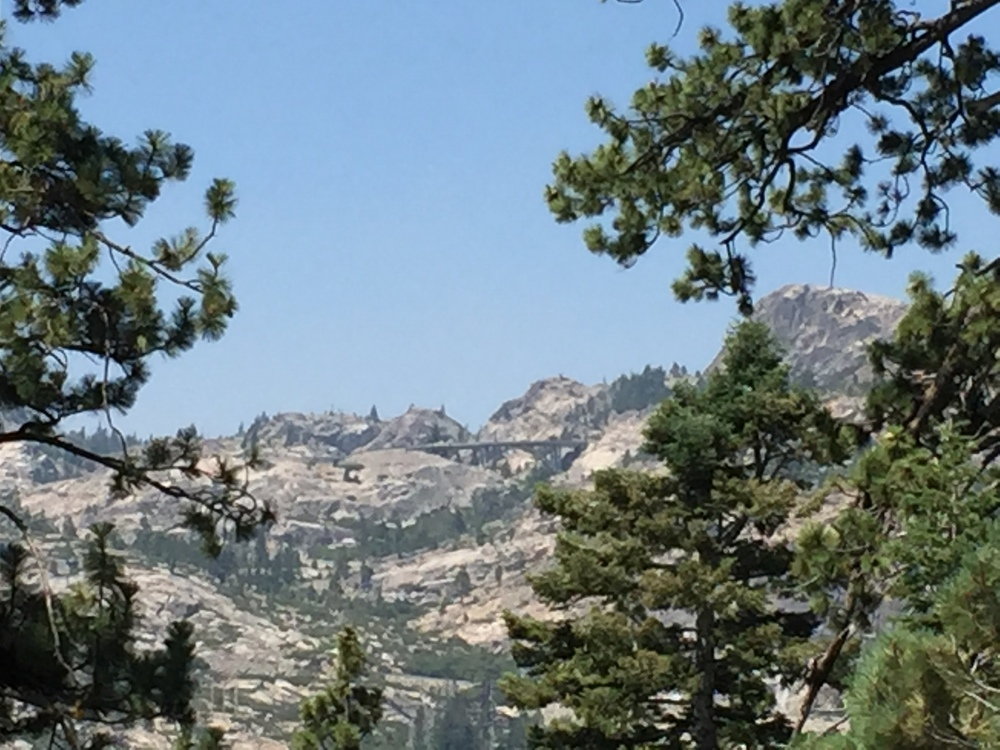 And a view of Donner Pass