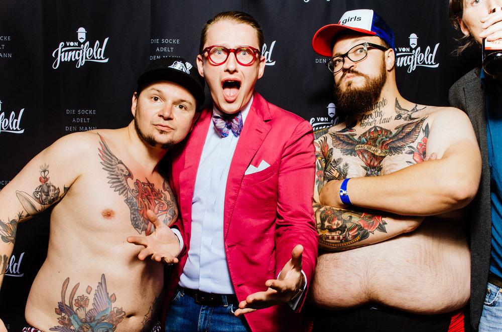 fotobox bild nackt männer lustig