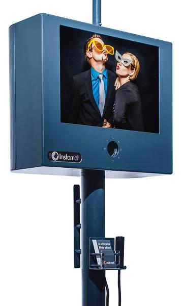 Fotobox Bildschirm