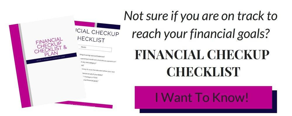 Financial+Checkup+Checklist