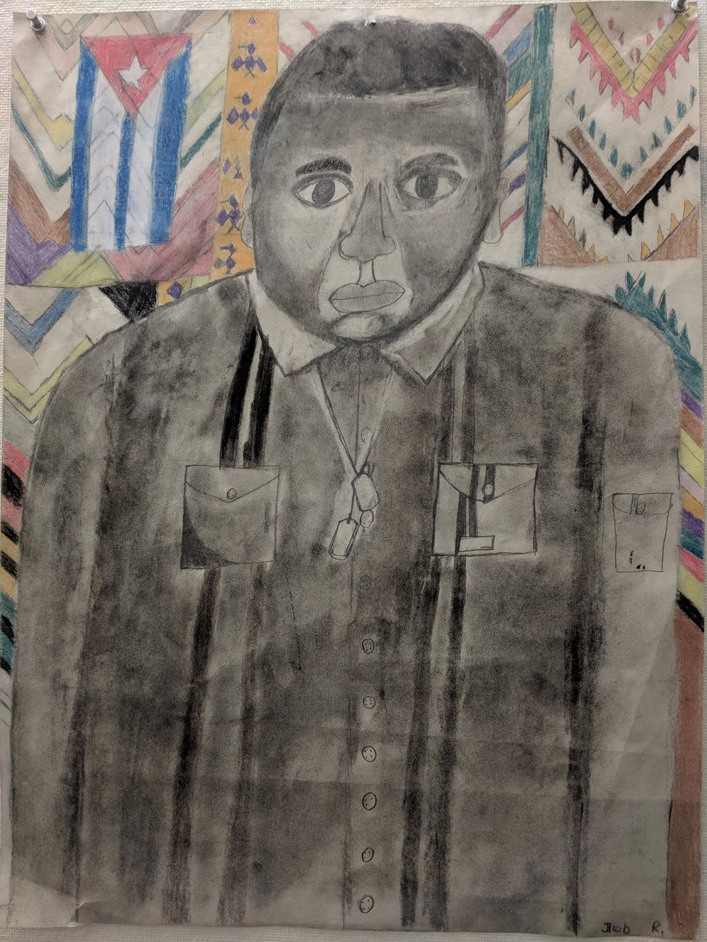 Jacob's Sankofa Self-Portrait