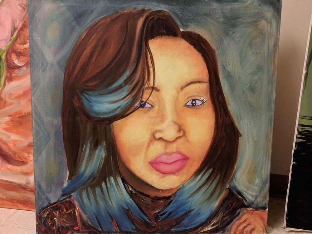 Sunshine's Self-Portrait