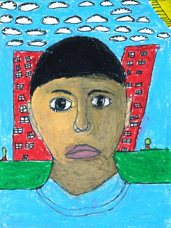 Self-Portrait by Alexander Mendoza