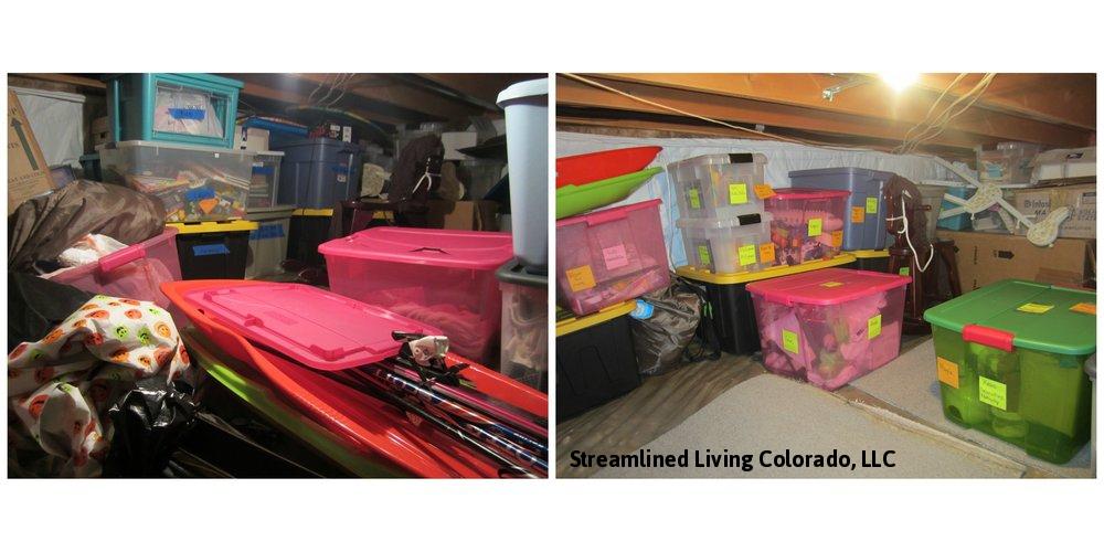 Storage space Streamlined Living Colorado