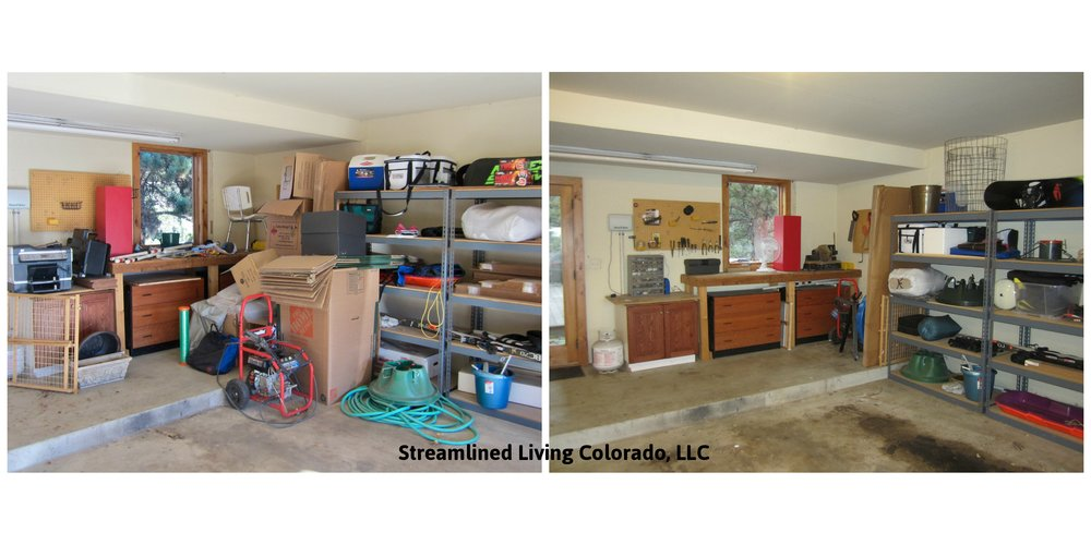 JT garage 3  signed reorganized organized professional organizer purged purge donate donations streamlined living colorado.jpg