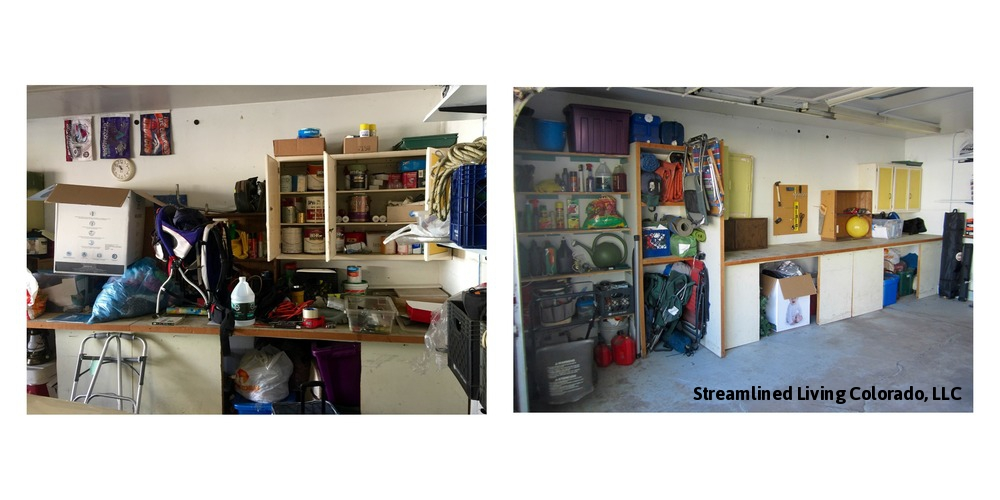 Garage 3 WD Streamlined Living Colorado reorganized organized professional organizer purged purge donate donations garage.jpg