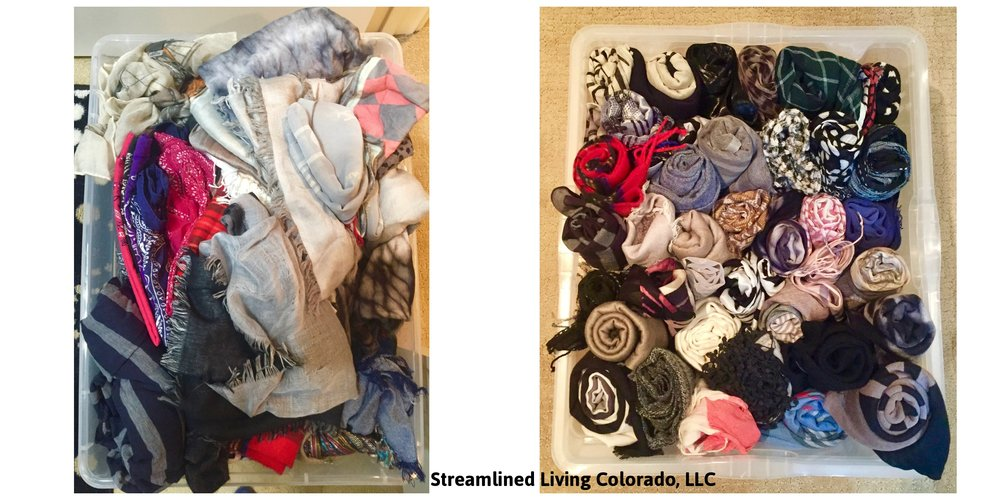 bin scarves rolled up professional organizer streamlined living colorado.jpg