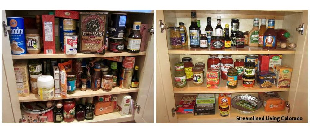 professional organizer organized reorganized pantry pantries Streamlined Living Colorado