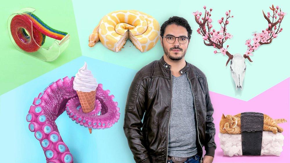 Creación de imágenes Pop Art con objetos cotidianos - Un curso en español de Paul Fuentes, Diseñador y artista digital