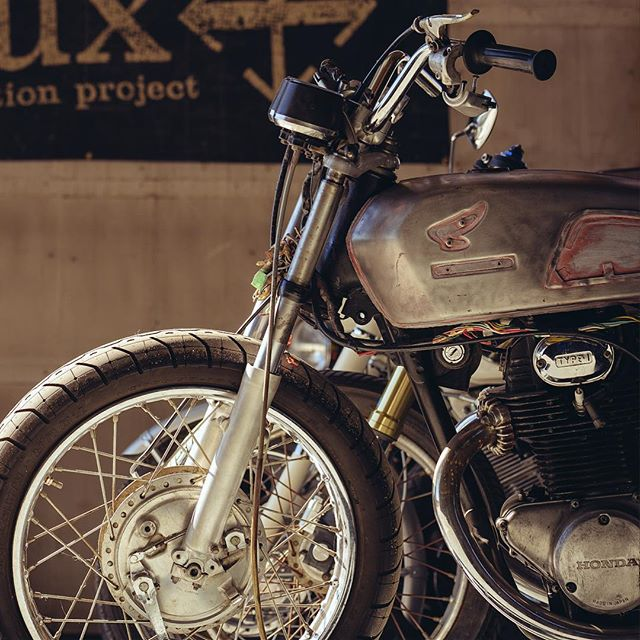 No faux here #handbuiltmotorcycles #handbuilt #custommade #handmade #caferacer #thepineshed #inbend #spoken