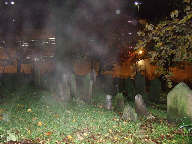 Graveyard Photographic Anomoly