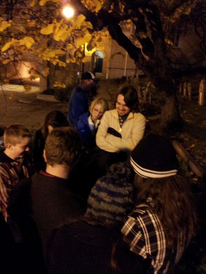 Spirit Communication on Haunted Knoxville Ghost Tours