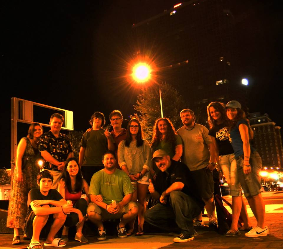 Haunted Knoxville Tours group shot