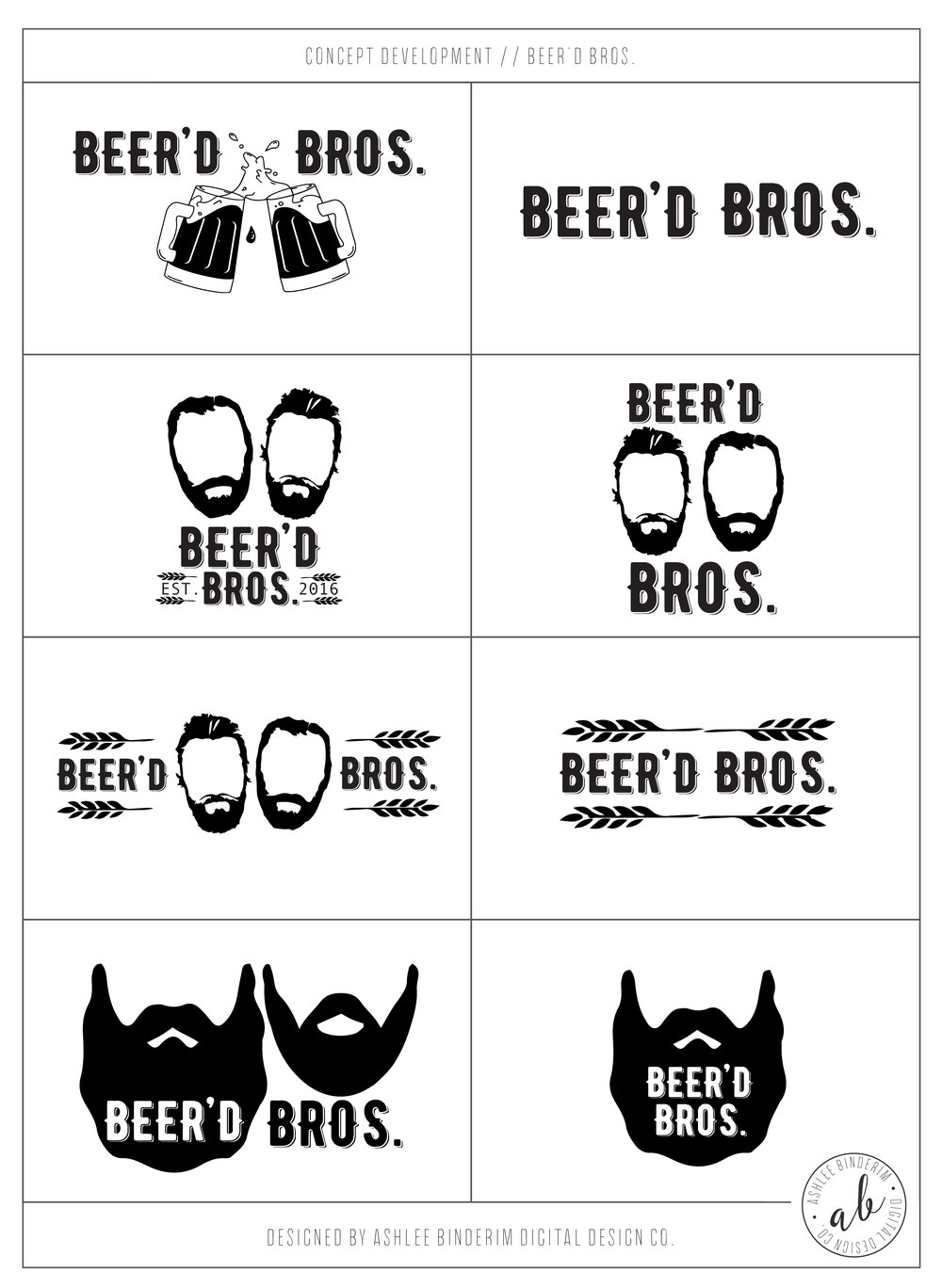 Concept Development – Beer'd Bros.