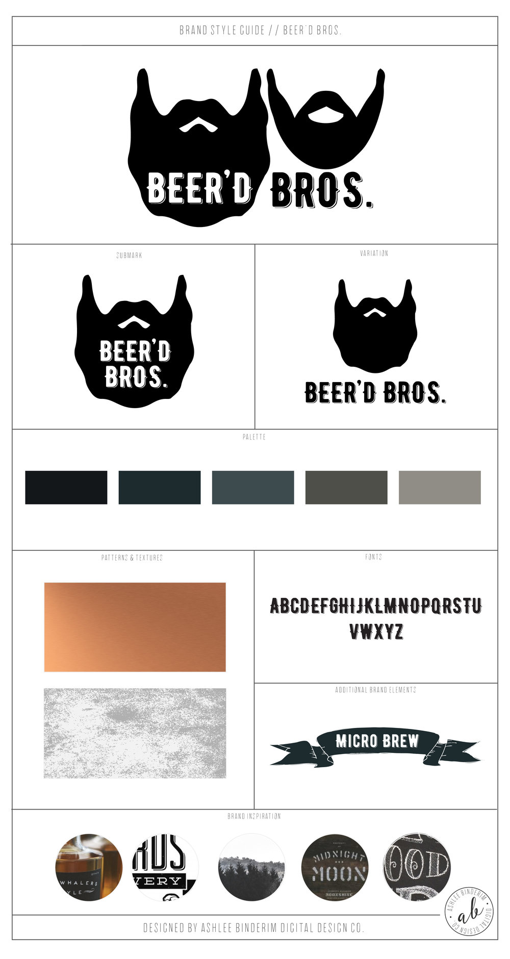 Brand Style Guide – Beer'd Bros.