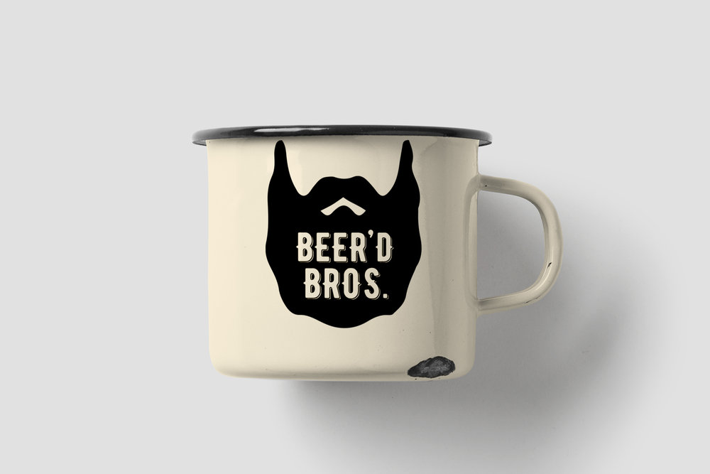Beer'd Bros. Hipster Mug