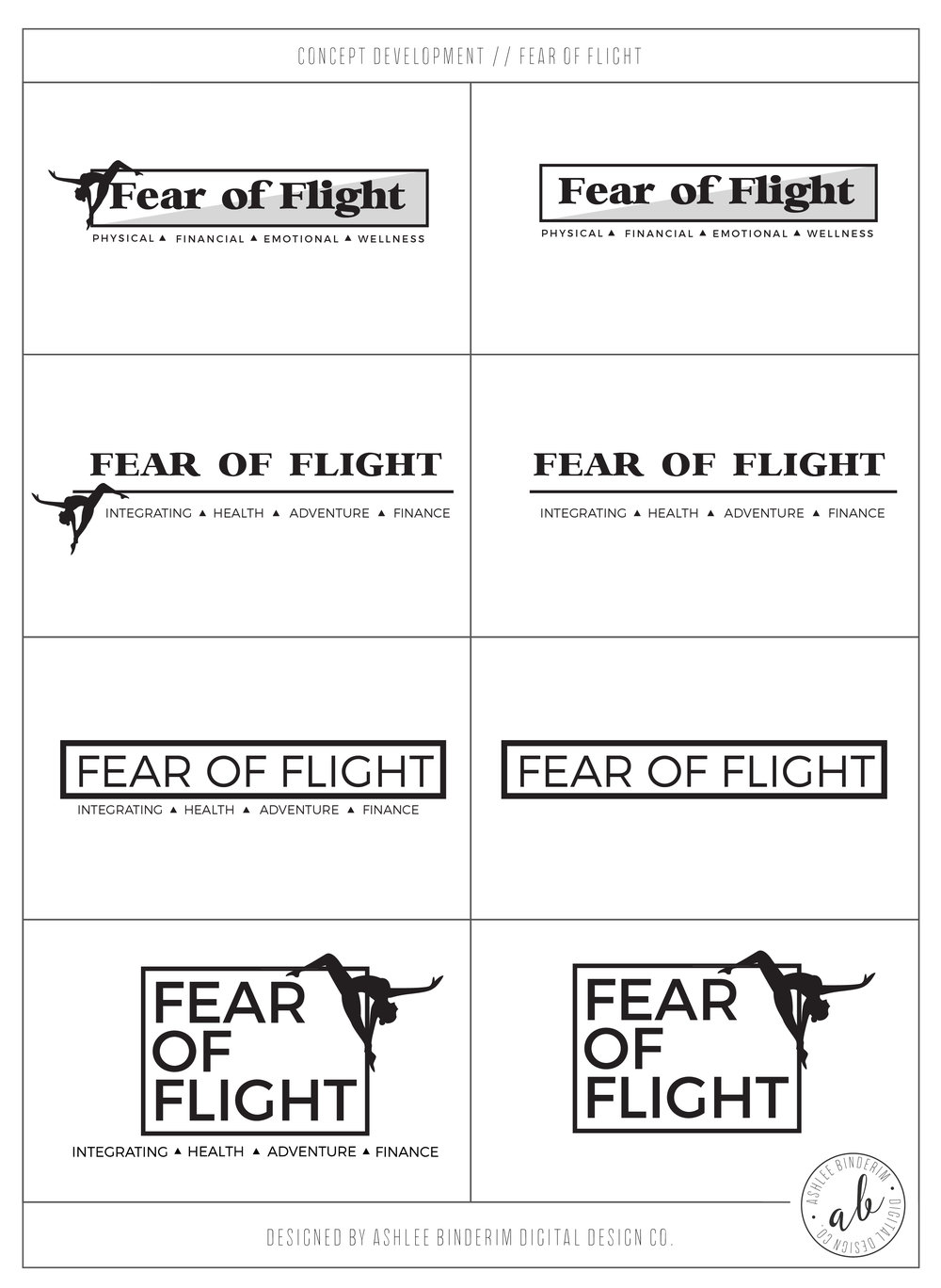 Fear Of Flight Concept Development