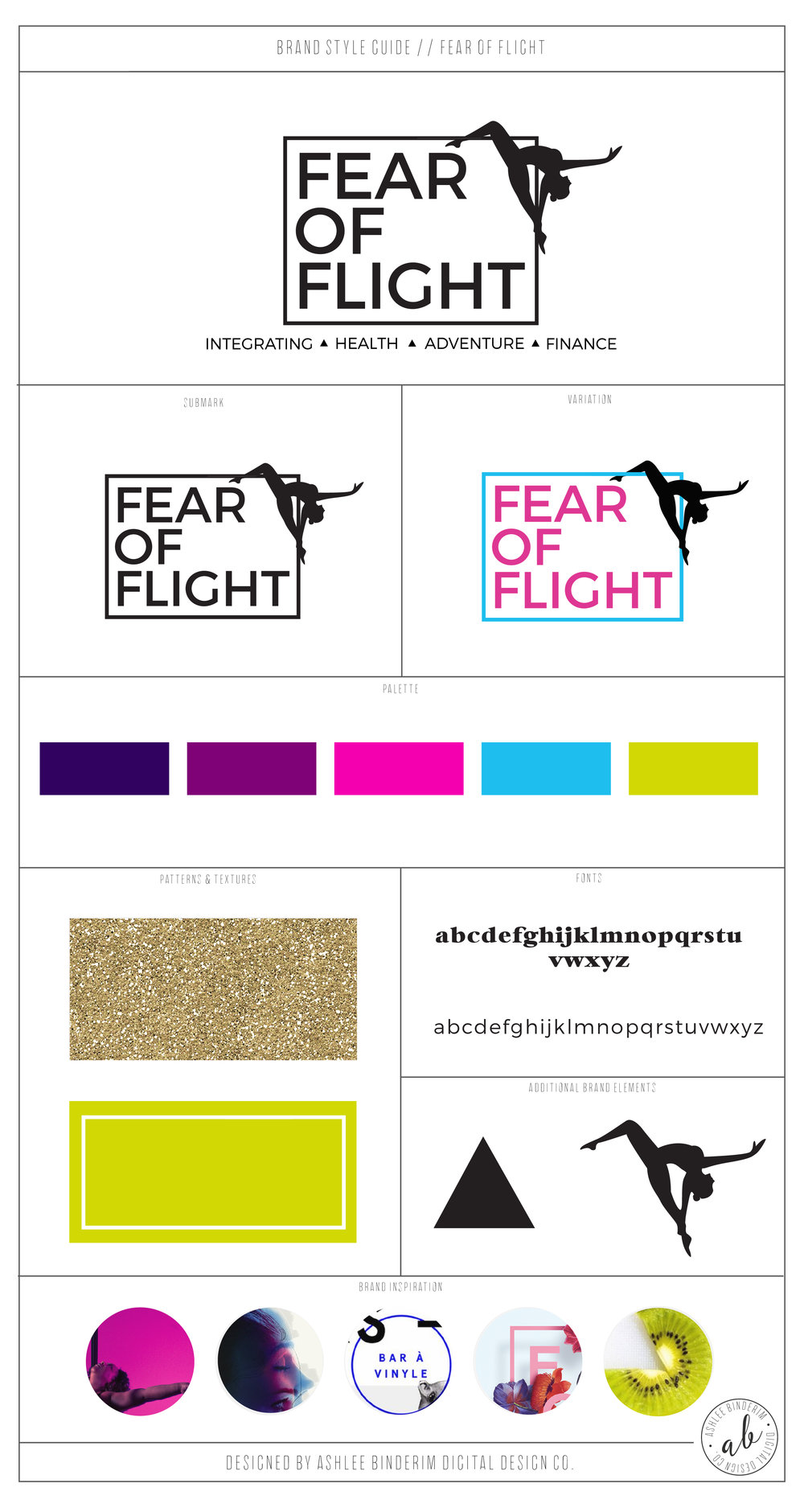 Fear of Flight Brand Style Guide