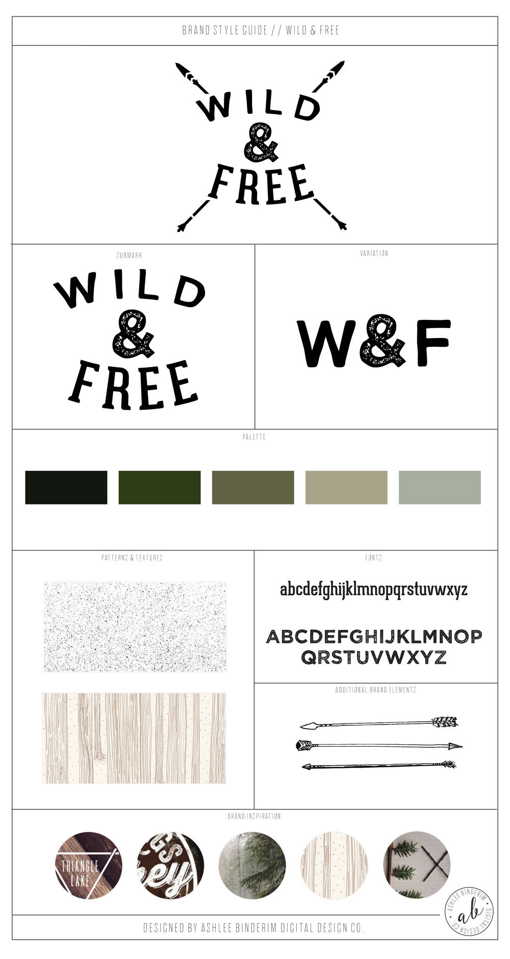 Wild & Free Brand Style Guide