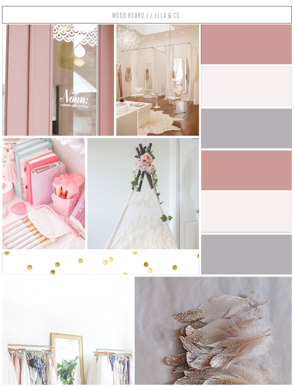 Ella & Co. Mood Board