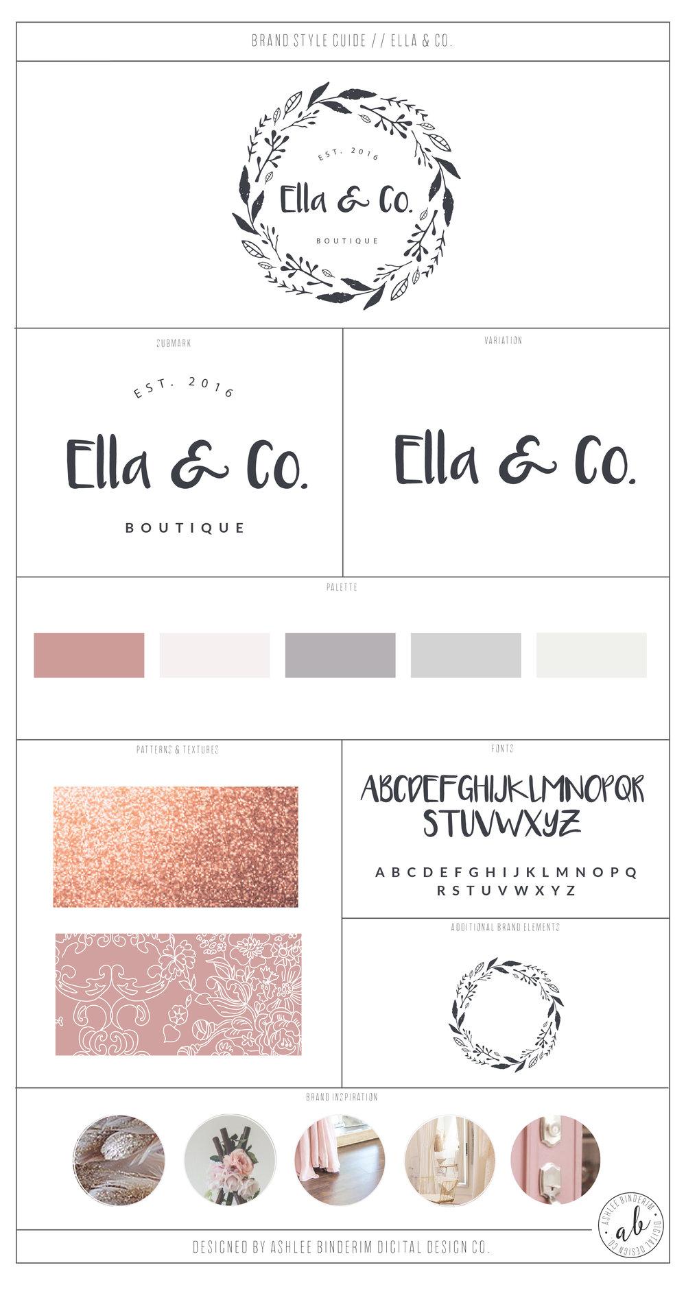 Ella & Co. Brand Style Guide