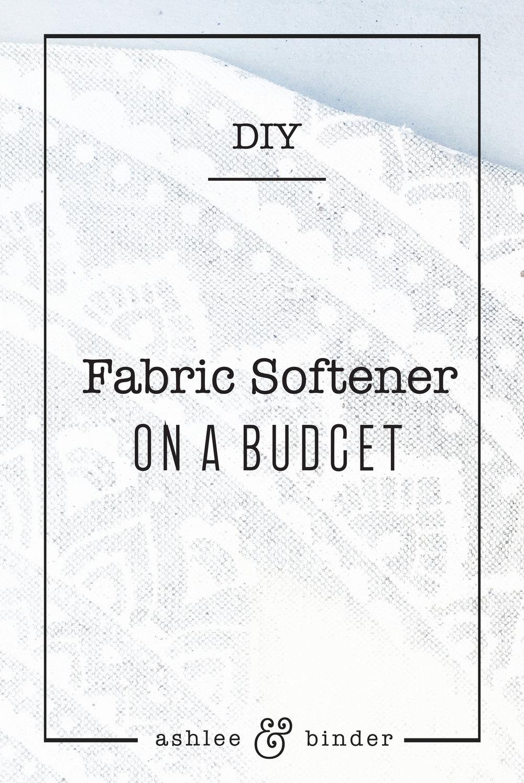 DIY Fabric Softener