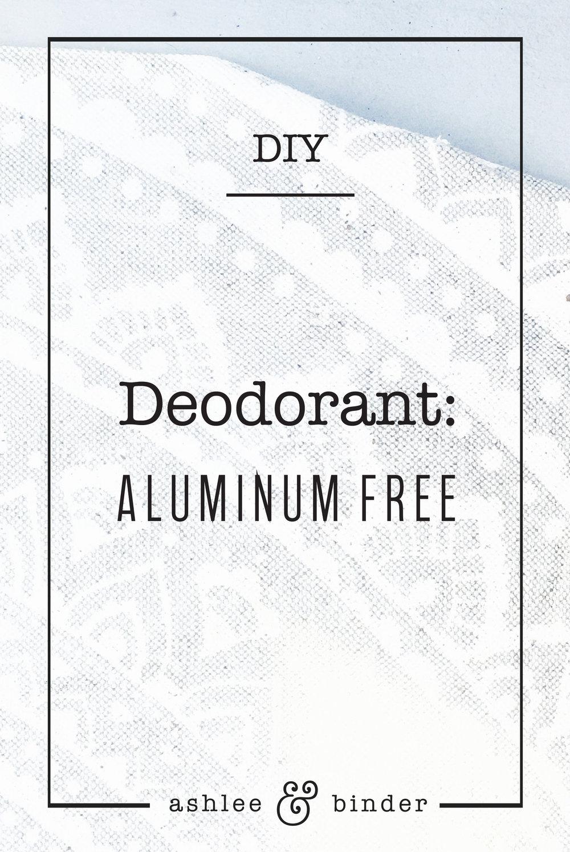 DIY Deoderant