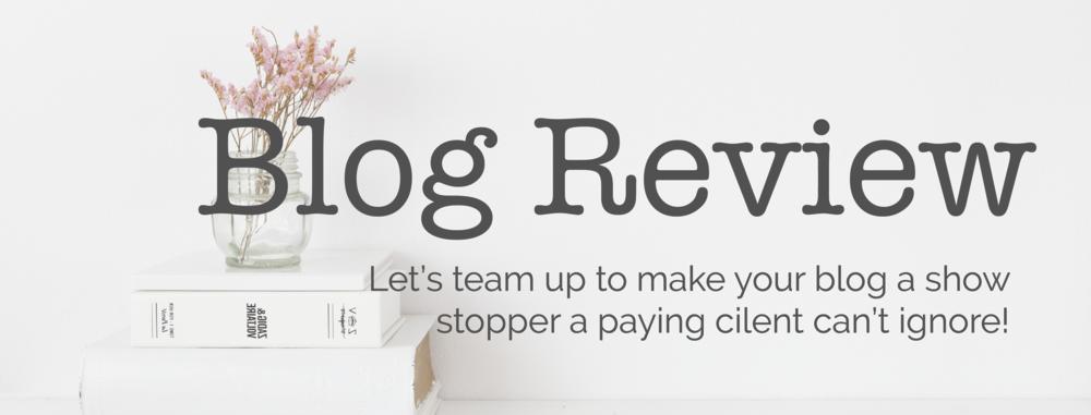 Blog Reveiw
